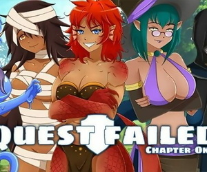 Quest Failed Chapter one Part 1 Sexy Slime Fantasy Woman