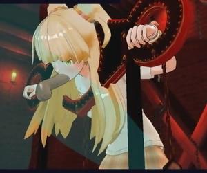 The Idolmaster Hentai - Rika Jougasaki Pounded Roughly