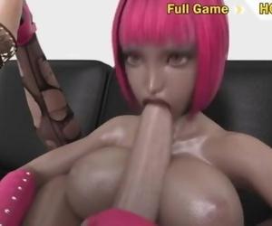 Futanari Fucks Woman 3d