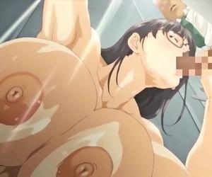 Buxomy MILF Smallish her Neighbor - Extreme Anal - Anime..
