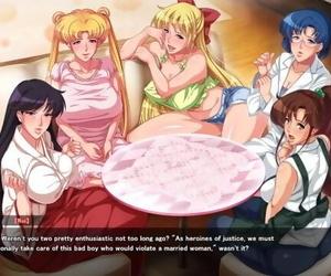 Sailor Fuku Bijin Tsuma Senshi Aheahe Moon CH 1: the..