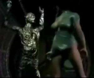 3d Alien Gang-fuck