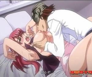 Hentai Pros - Dirty Teacher Likes Cock in inbetween her..