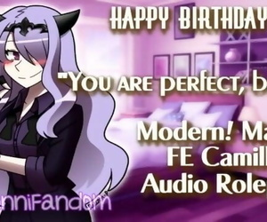 【r18+ ASMR/Audio Roleplay】Wholesome Talks and BDay..