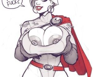 Power Girl On Darkseid - part 2