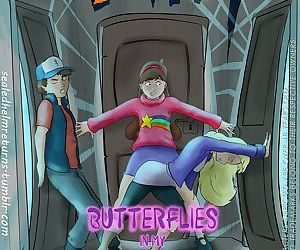 Gravity Falls- Butterflies in My..
