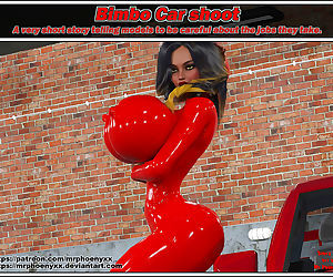 Phoenyxxx- Bimbo Car Shoot