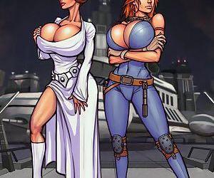 Boobsgames- Leia and Mara