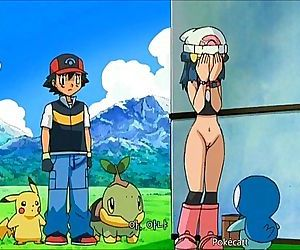 Pokemon - Ash and Dawn having sex..