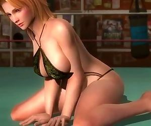 Dead or alive 5 Tina blonde MILF..