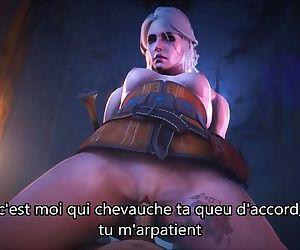 Ciri Waifu French Joi / The Witcher
