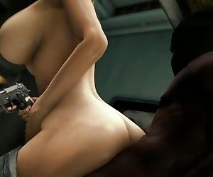 Horny Slut Lara Croft Gets..