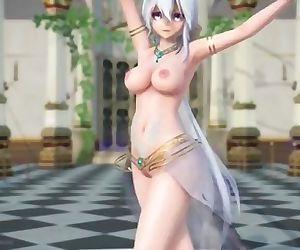 MMD Haku Arabian Temptation