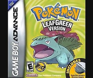 Pokemon Fire Red/Leaf Green Title..