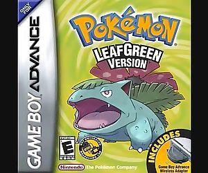 Pokemon Fire Red/Leaf Green Title..