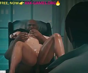 Interracial fuck with cuckold in..