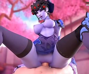 OVERWATCH COMPIlATION WIDOWMAKER