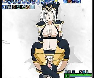 Ashe Fucking - League of legends..