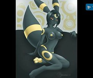 Pokemon hentai: umbreon edition!