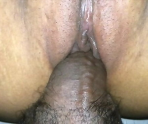 Indian girl stretched pounded and creamed