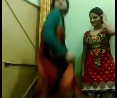 young girls hostel masthi strip dance - 3 min