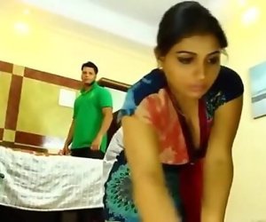 Indian Maid Seduced Softcore 4 min