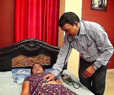 INDIAN HOUSEWIFE Tummy DOCTOR 5 min HD