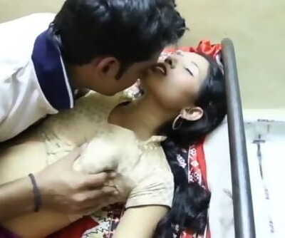 Scorching desi shortfilm Legal - Knockers squeezed hard in blouse & navel kissby tailor