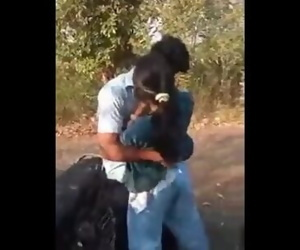 desi indian smooch and jappi in jangal on scooter sexy