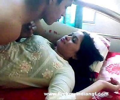 Indian Lovemaking Indian-Sex Duo Foreplay Smooching - 1 min 2 sec