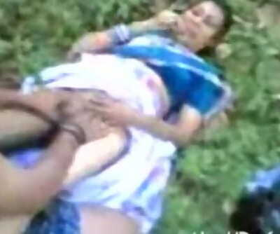 Desi Devar and bhabi outdore sex