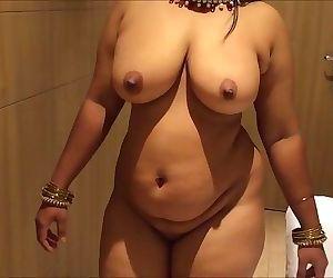 Scorching busty desi h wifey
