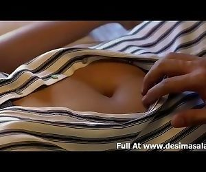 Indian Secretary Making Sex with Manager in HotelRoom