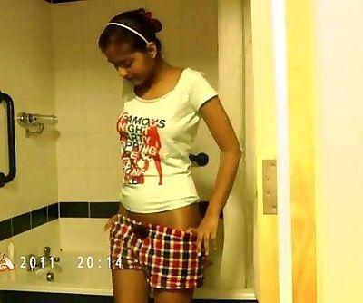 Indian Babe Divya Shower Hookup - 2 min