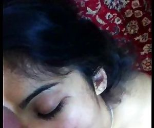 Desi Indian - NRI Gf Face Fucked Deep throat and Jizz flows Compilation - Leaked Scandal - 15 min
