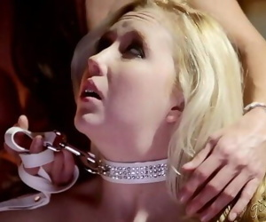 India Summer and her much junior gimp 6 min