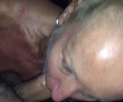 Suntanned Submissive British Mummy Pleasuring Indian Stud