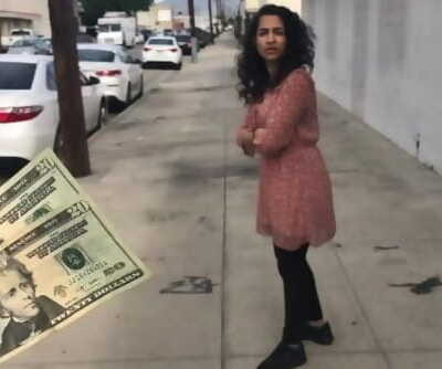 Money Talks - Woman Drops Money and I Return It To Her