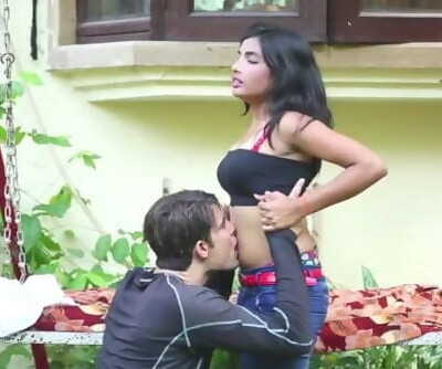 Highly scorching desi shortfilm 50 - Navel licked, boobs licked, pressed & smooches
