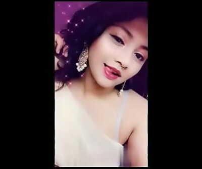 Desi web cam girl 2 45 min