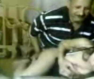 Desi old stud fucks tongues teen gobbling sex video