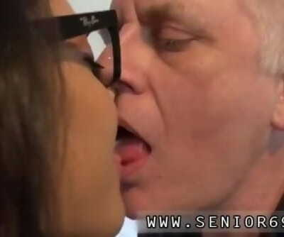 Desi old man fuck youthful woman and old dad and two daughters Carolina is