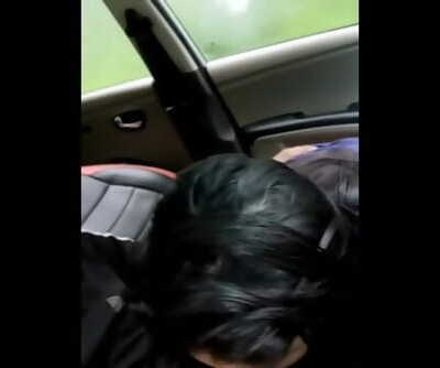 Punjabi Chick Sucking Desi Dick in a car
