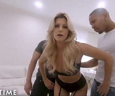 ADULT TIME Ur MILF Wife India Summer Cucks U with 2 Hung Dudes 10 min