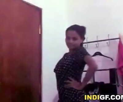 Buxomy Desi Girlfriend Milks 5 min