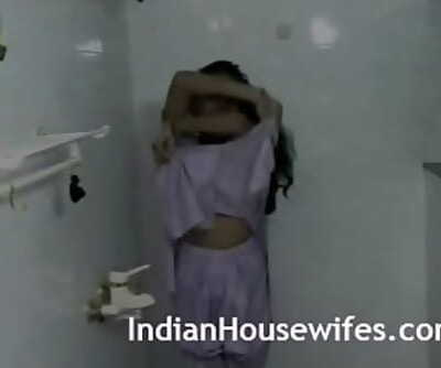 Molten Indian Bhabhi Taking Shower With Hubby 2 min