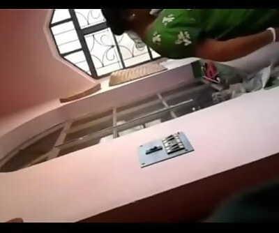 Desi elder sister dressing spy 4 min