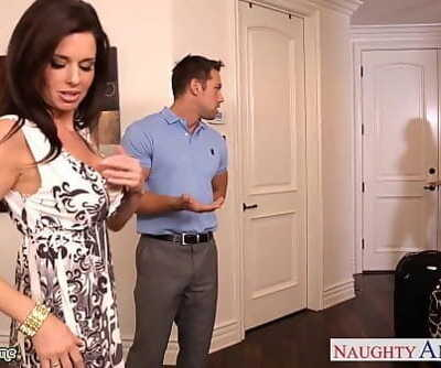 Brunettes India Summer and Veronica Avluv share a fat dick 8 min 720p