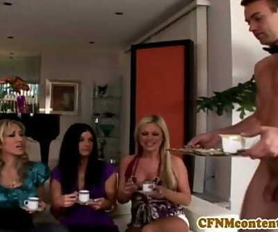 Cfnm female domination India Summer spoonful of jism 8 min 720p