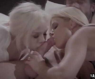 Foster dad Charles cums on Elsas vagina 6 min 720p